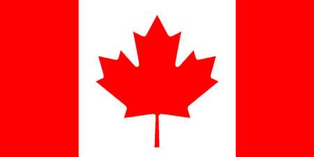Le drapeau canadien Vecteurs