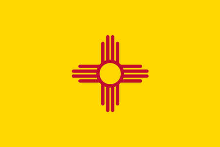 flag of mexico: The flag of the state of New Mexico