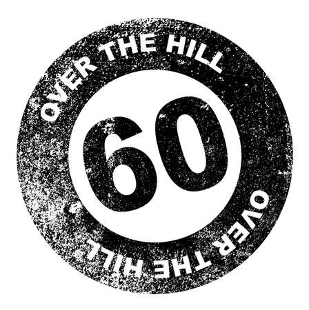 over the hill: Over the Hill 60 Stamp