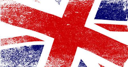 libbenő: A megfakult brit Union Jack zászló csapkodott Illusztráció