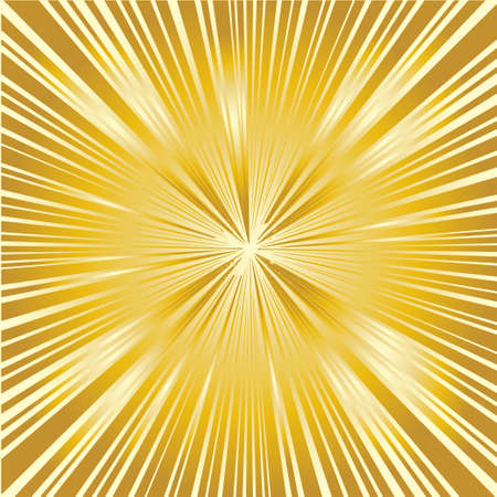 radiating: Un fondo de los rayos que irradian de un punto central Vectores