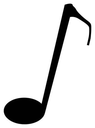 quaver: The musical not quaver over a white background