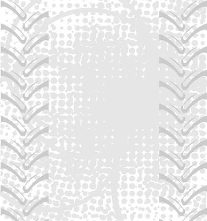 Tyre tread of a typical generic tractor or off road vehicle as a grunge background