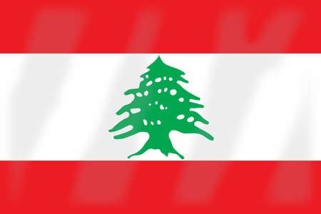 lebanon: Flag of the Arab League country of Lebanon