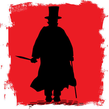 cobbled: Jack the Ripper on the cobble streets of London