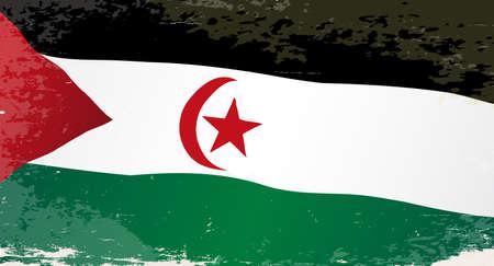 country western: Le drapeau de ce pays d'Afrique Sahara Occidental