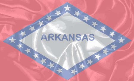 arkansas: The state flag of the USA state of Arkansas