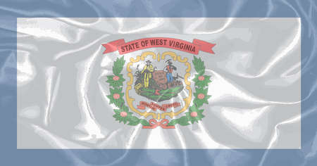 virginia: The state flag of the USA state of West Virginia
