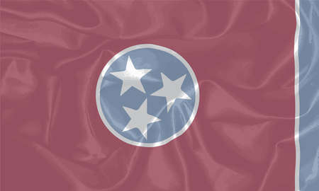 od: The flag of the US state od Tennessee