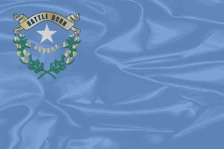 nevada: The flag of the American state of Nevada