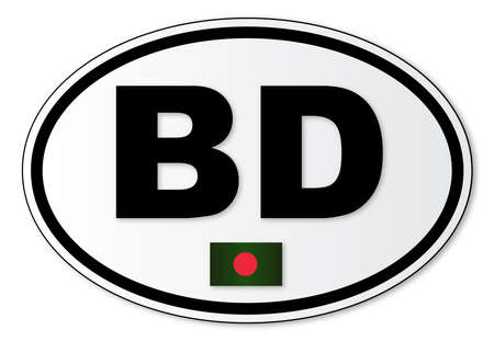 해외로: The BD plate attached to vehicles from Bangladesh travelling abroad