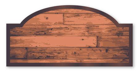 Baumarkt Stilvollen Holz Shop Zeichen Auf Einem Weißen Hintergrund
