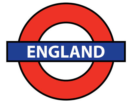 but: A depiction of the London Underground but with the legend ENGLAND