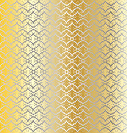 linked: A gold and silver linked pattern background