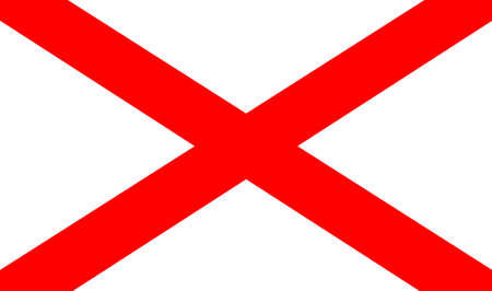 northern: The official flag for Northern Ireland - Part of the United Kingdom of Great Britain.
