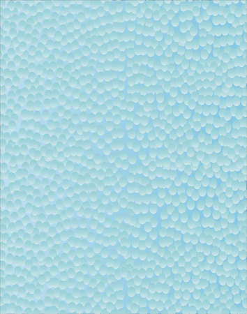 pane: A blue frosted glass panel in hammered effect