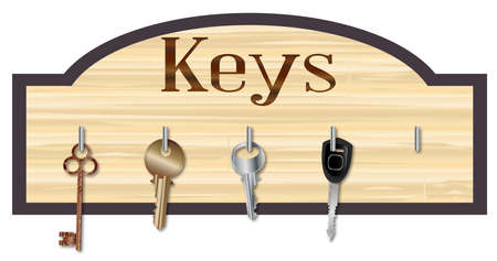 latch: Wood Key Board