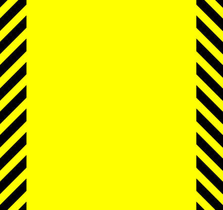 yellow beware: A background in the natural warning colours of yellow with black stripes