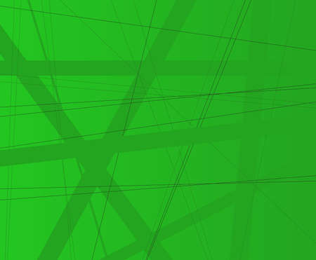 criss cross: A green background with green shade criss cross items. Illustration