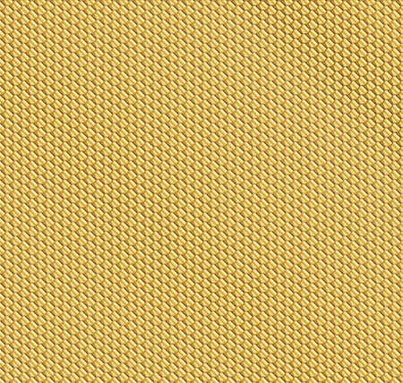 regularity: A golden honeycomb pattern as a background