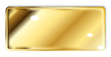 heavy: A large heavy ingot of fine gold Stock Photo