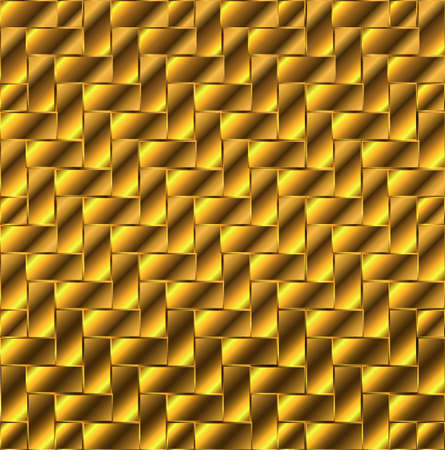 flooring: A collection of gold blockes aranged a flooring tiles