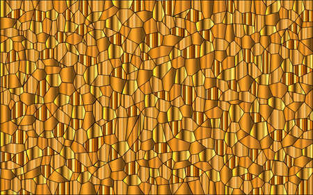 glass ceiling: A mosaic of gold metalic colours set as a background