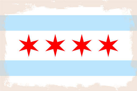 adopted: The flag as adopted by the city of Chicago