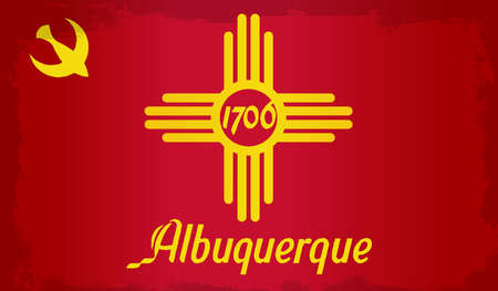 albuquerque: The flag as adopted by the city of Albuquerque
