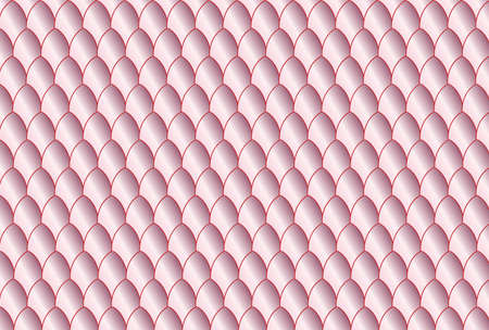 eggshell: A pink eggshell oval background with dark outlines