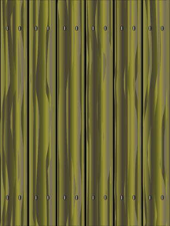 フェンスは木製の穀物を示す針葉樹の板から成っています。 写真素材 - 60499512