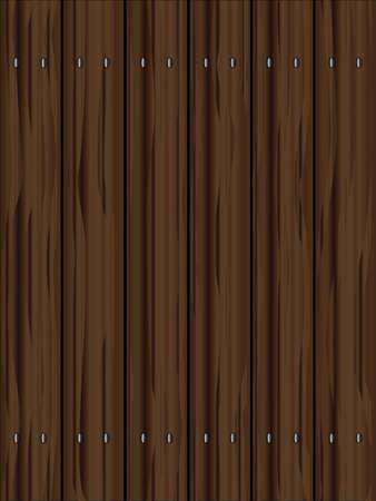 フェンス木製の穀物を示す針葉樹の板の年齢と暗くなります。 写真素材 - 60499518