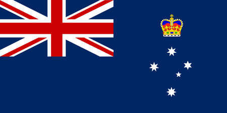 The flag of the Australian state of Victoria