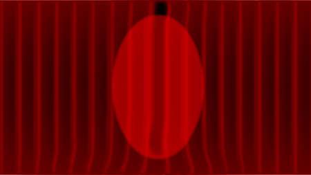 cortinas rojas: cortinas de color rojo oscuro con un reflector central