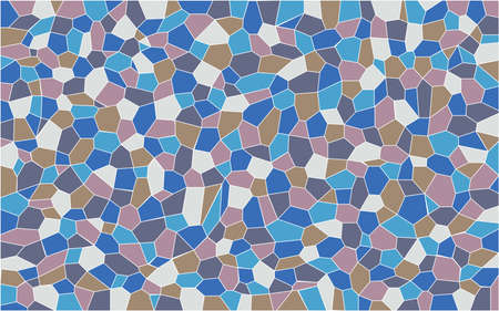 glass ceiling: A mosaic of several colours set as a background