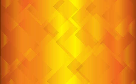 oblongs: A background of faded gold squares overlapping each other Stock Photo