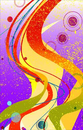 A purple jazz fleck grunge as a background