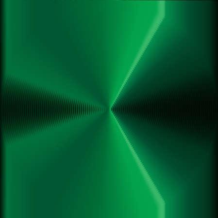 vertigo: An abstract circles vertigo efect in green