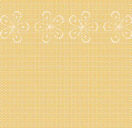 A nylon stocking weave background with light floral pattern Illustration