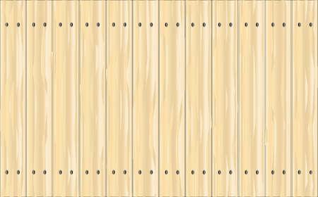 松フェンスは木製の穀物を示す鮮やかなステンド グラスの針葉樹の板から成っています。 写真素材 - 90096091