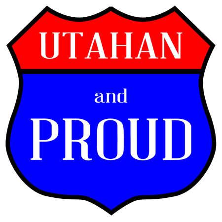 ルート スタイル交通標識、ユタ州の人と誇りの伝説