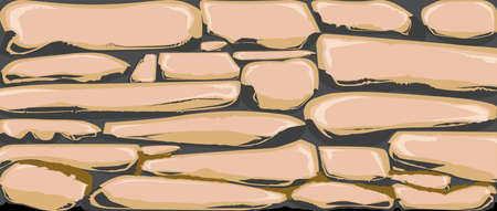 A traditional dry stone wall set as a banner background