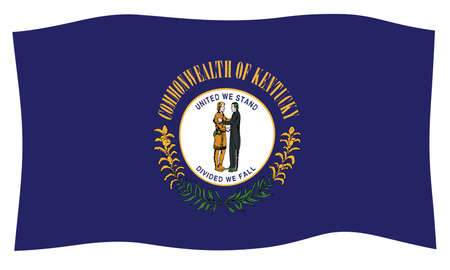 The State Seal of Kentucky on a white background