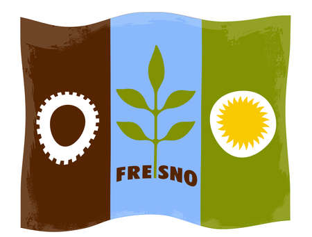 City of Fresno flag
