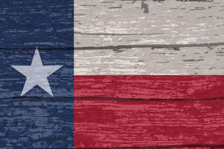 The flag of the USA state of TEXAS Stock Photo - 112677049