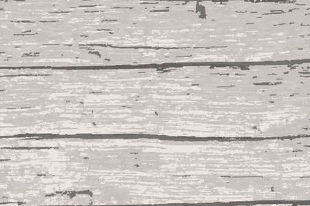 Driftwood timber background with a white paint overlay Çizim