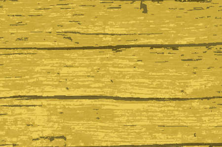 Driftwood timber background with a yellow paint overlay