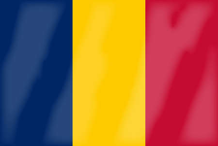 The national flag of the countria of Romania