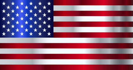 The Stars and Stripes flag of the United States of America