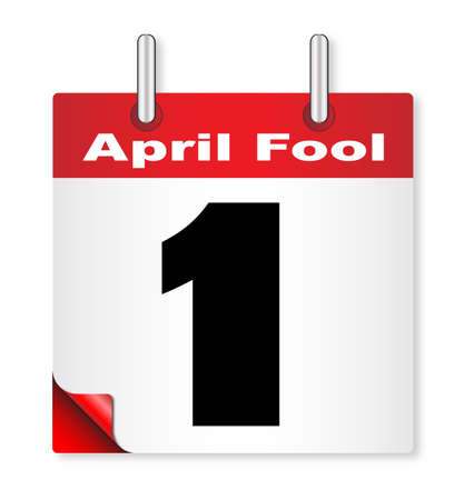 A calender date offering the 1st April fools day